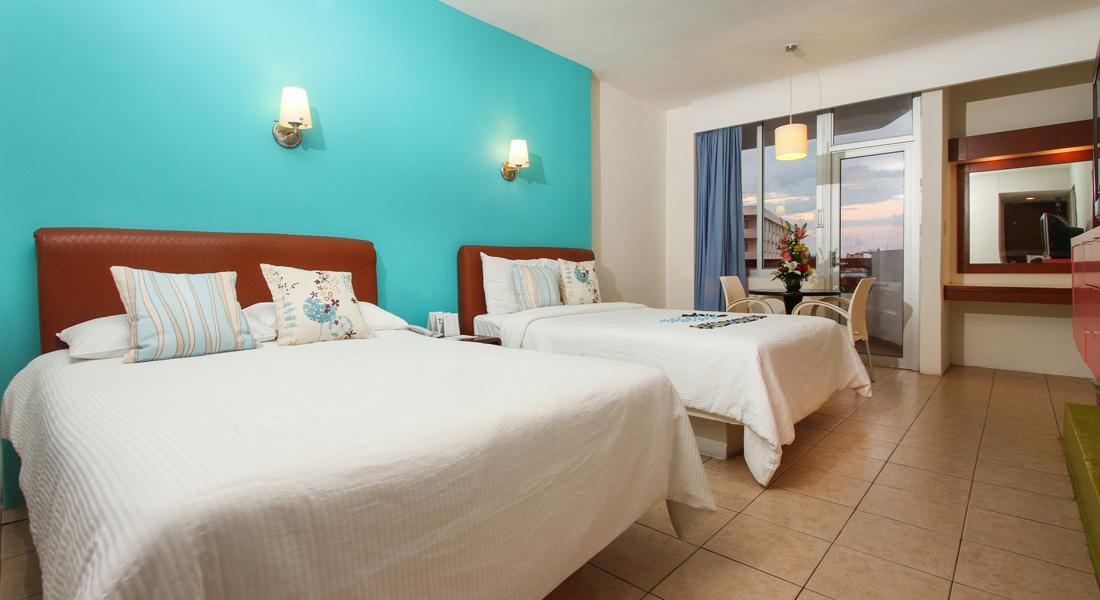 Habitaciones oceano palace hotel en mazatlan sinaloa for Detalles en habitaciones de hotel